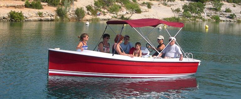 Photo du bateau sans permis Ruban Bleu SCOOP