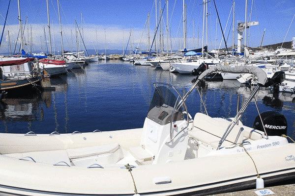 Photo du bateau à moteur NUOVA JOLLY FREEDOM 590
