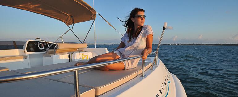 Photo du bateau à moteur Fountaine Pajot SUMMERLAND 40