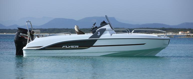 Photo du bateau à moteur BENETEAU Flyer 6 SUNdeck